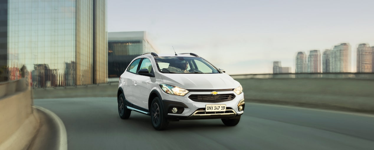 Novo Onix 2019 hatch da Chevrolet