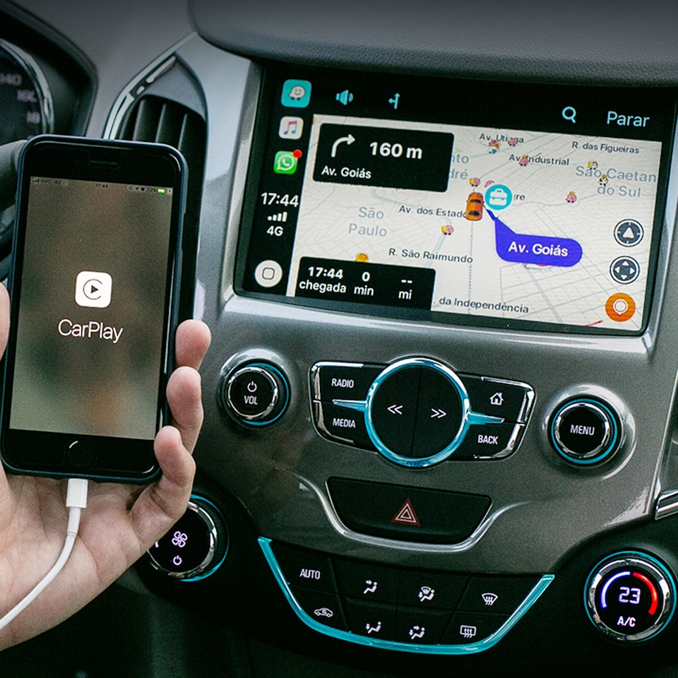 Spin Activ 2020 SUV com Apple CarPlay para iPhone