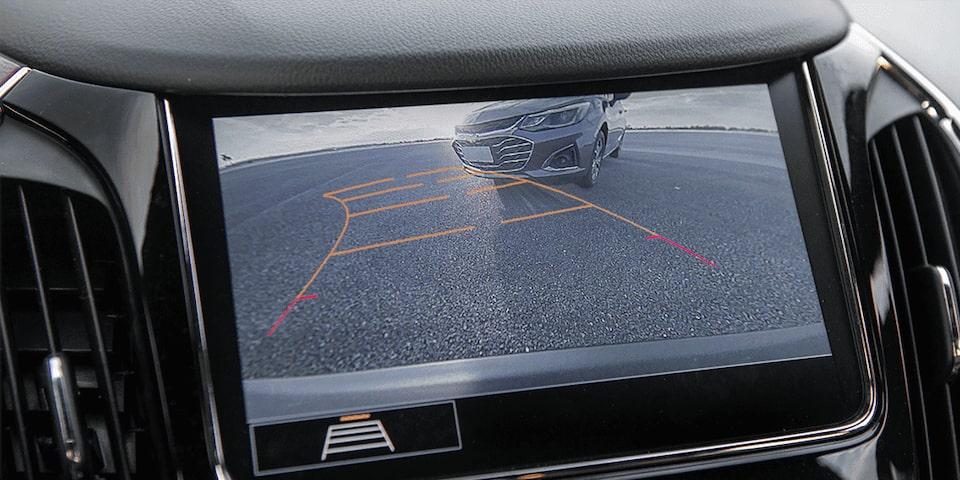 Câmera de ré traseira com imagem digital HD do novo carro com Wi-Fi Cruze Sedan Premier 2020