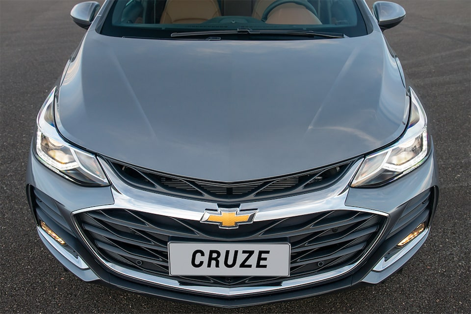 Design frontal do novo Chevrolet Cruze Sport6 Premier 2020