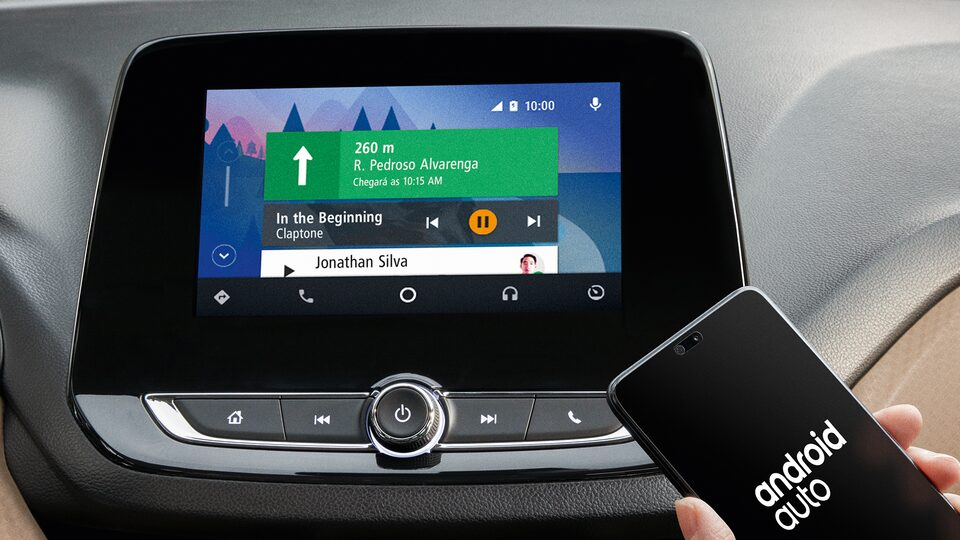 Android Auto do novo Chevrolet Onix 2020