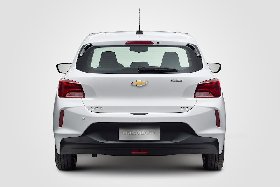 Design traseiro do novo Chevrolet Onix 2020