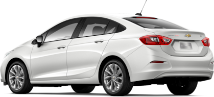 Lateral carro Chevrolet Cruze