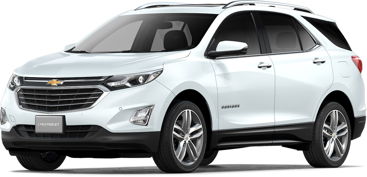Cor branco summit do Chevrolet Equinox