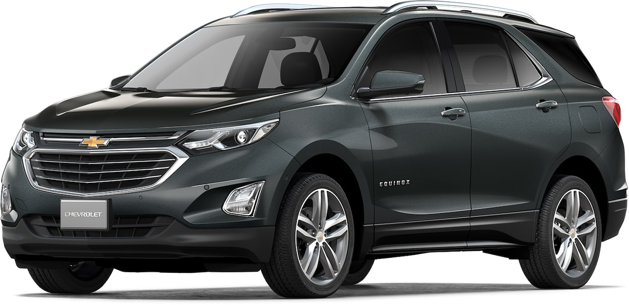 Cor cinza graphite do Chevrolet Equinox