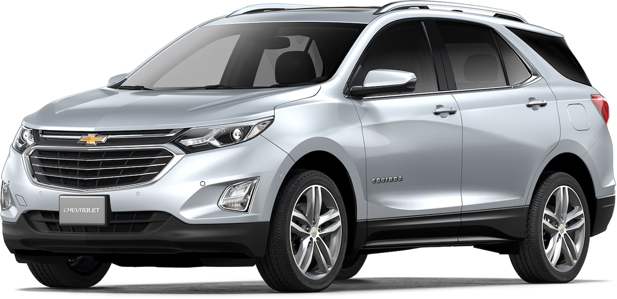Cor prata switchblade do Chevrolet Equinox