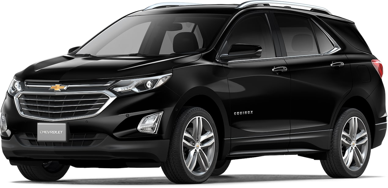 Cor preto global do Chevrolet Equinox