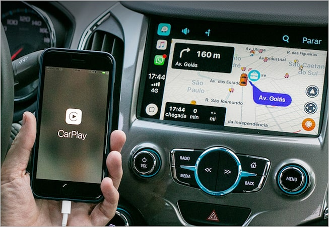 Equinox equipado com Apple CarPlay