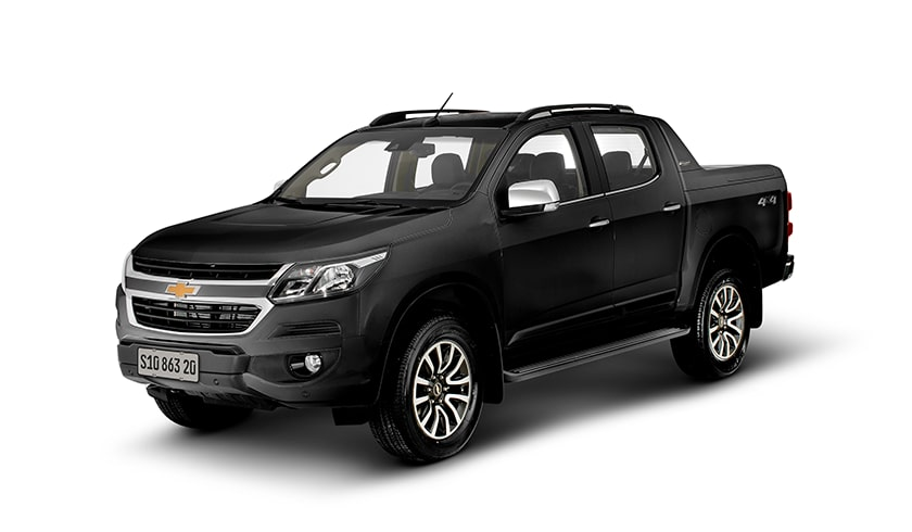 Chevrolet S10 High Country preto ouro negro 2019