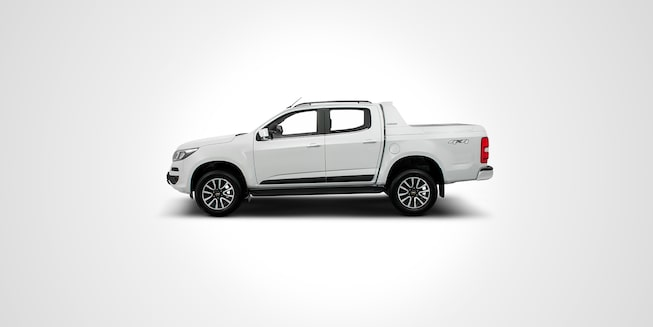 Lateral do carro Chevrolet S10 High Country 2019
