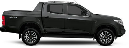 Lateral carro Chevrolet S10 High Country