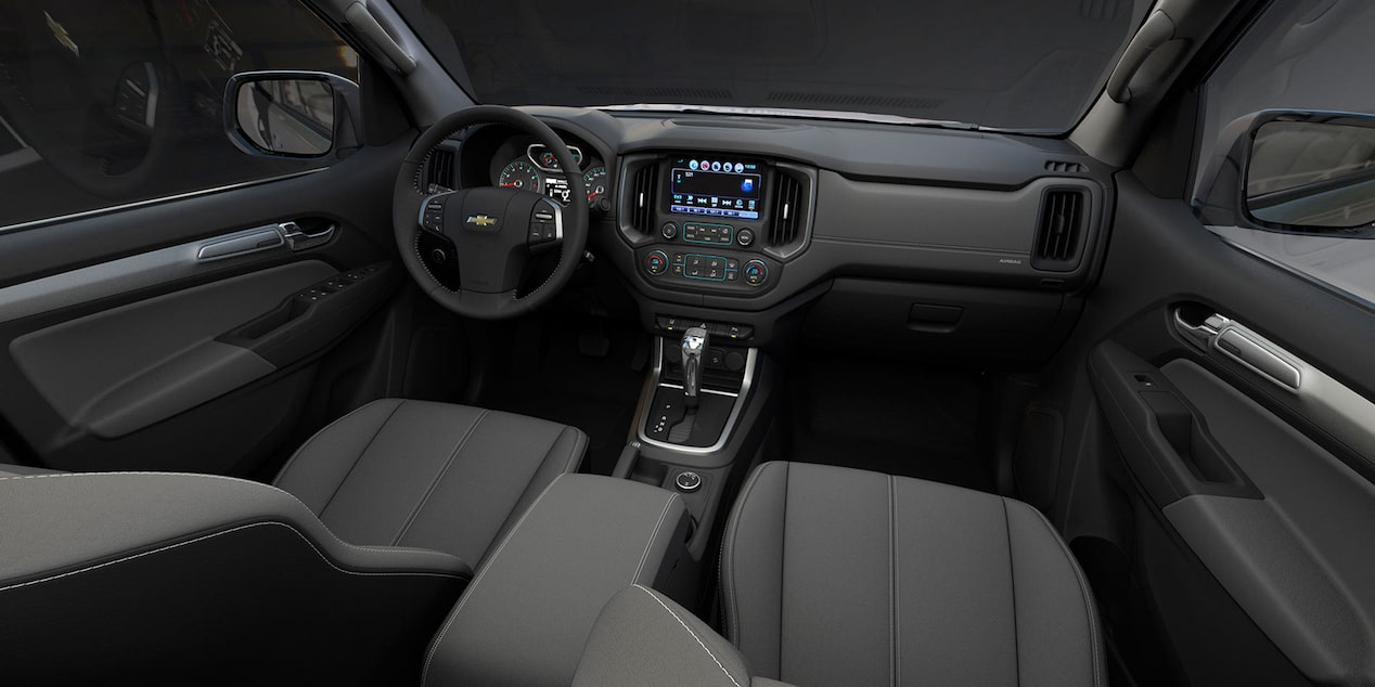 Painel de controle Chevrolet S10 High Country 2018