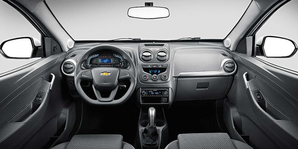 Volante e painel nova Chevrolet Montana  2019