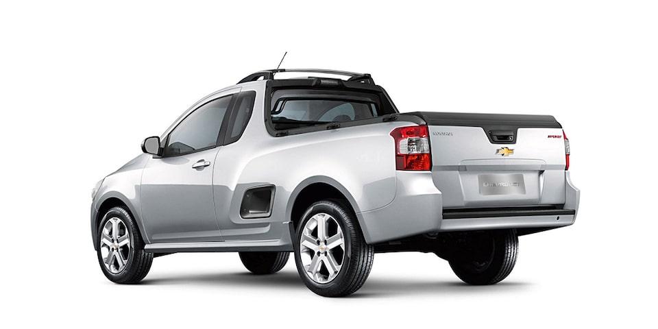 Caçamba Chevrolet Montana caminhonete 2019