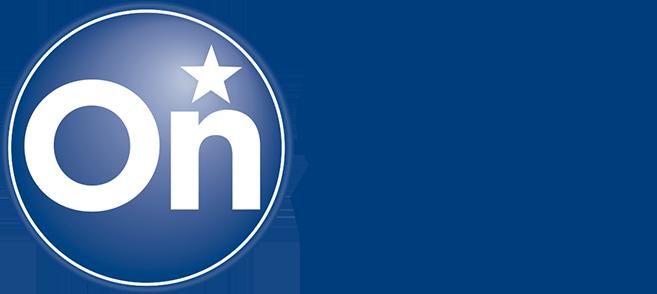 Logo tecnologia OnStar Chevrolet
