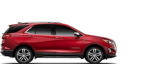 Lateral novo Chevrolet Equinox 2019