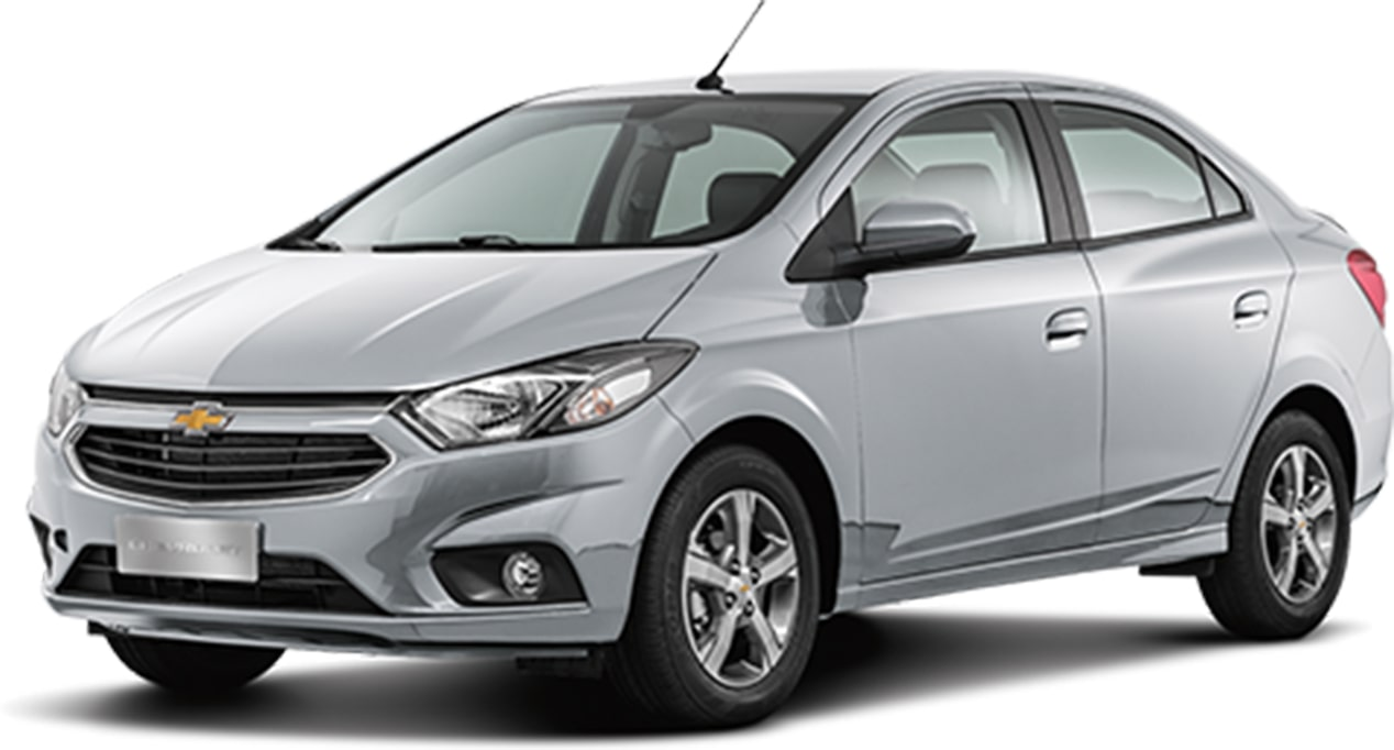 Chevrolet Prisma Prata Switchblade 2018