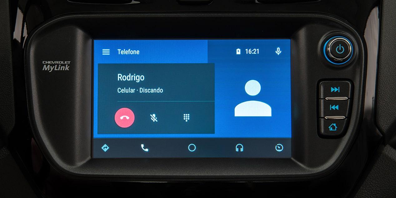 Computador de bordo novo Chevrolet Cobalt 2018 Chamada de telefone