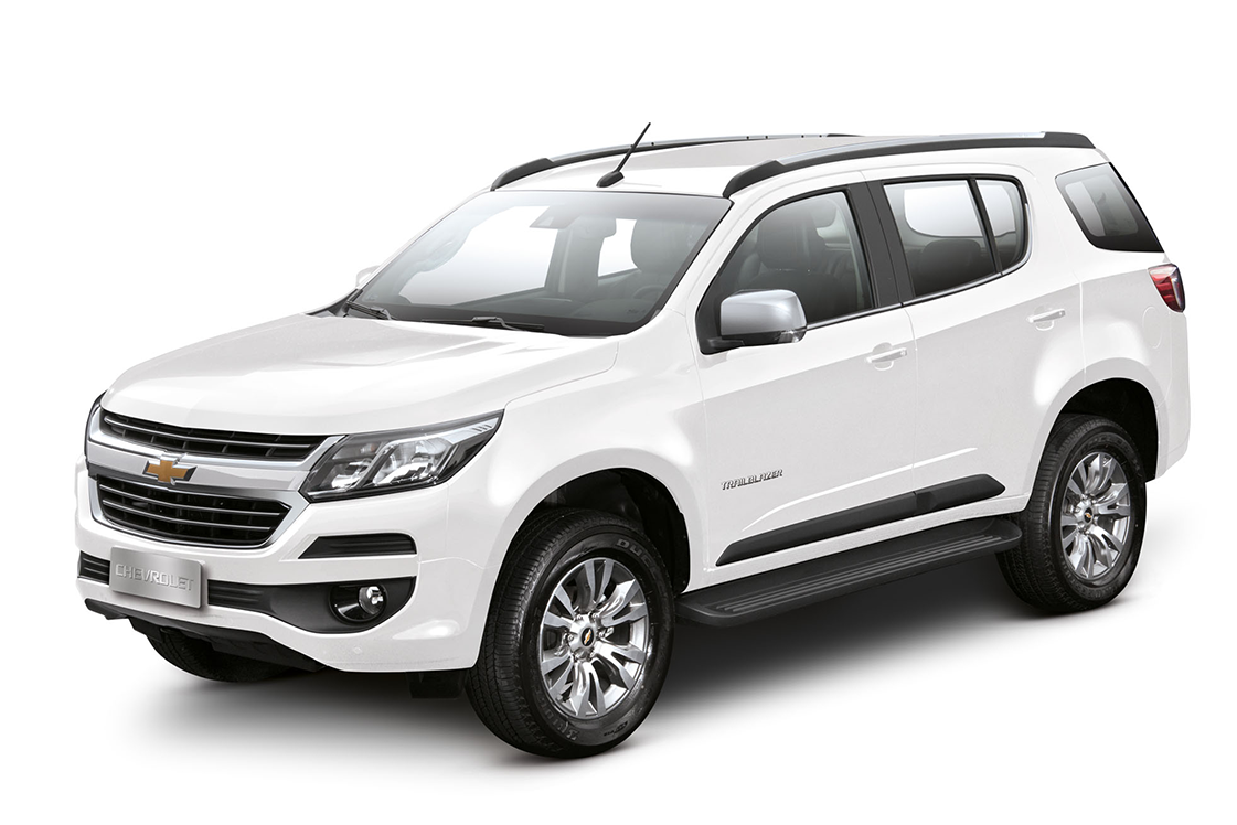 SUV Chevrolet Trailblazer Branco Summit 2018