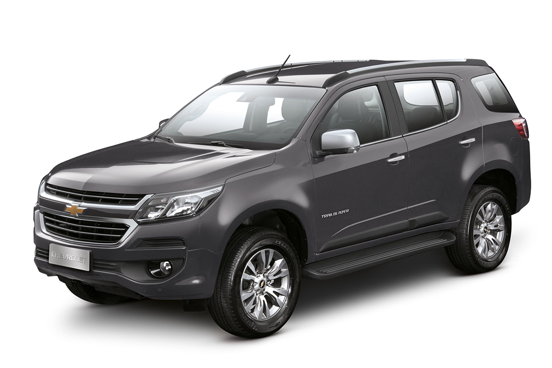 SUV Chevrolet Trailblazer Cinza Graphite 2018