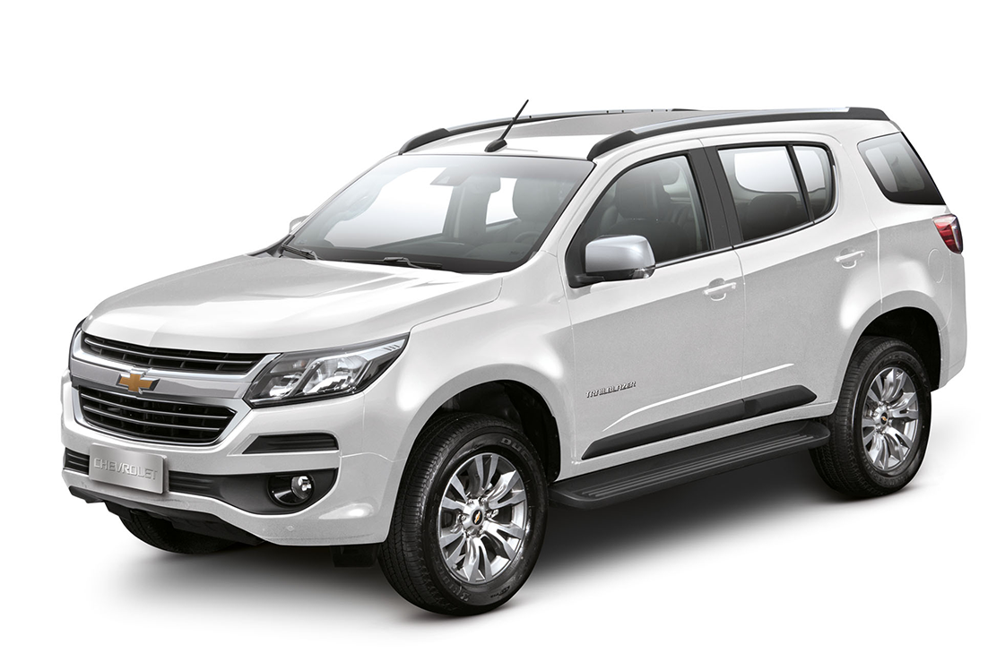 SUV Chevrolet Trailblazer Prata Switchblade 2018