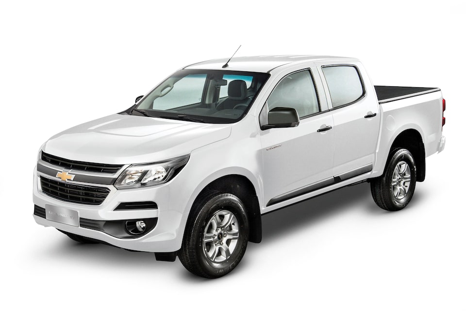 Chevrolet S10 Cabine Dupla branco summit 2018