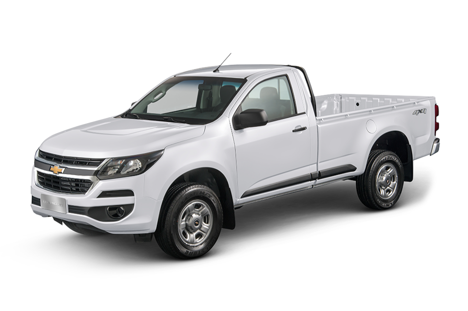 Chevrolet S10 Cabine Simples branco summit 2019