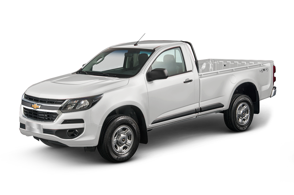 Chevrolet S10 Cabine Simples prata switchblade 2019